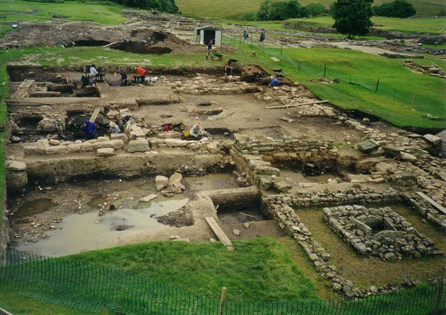 Excavations at Vindolanda Roman Fort