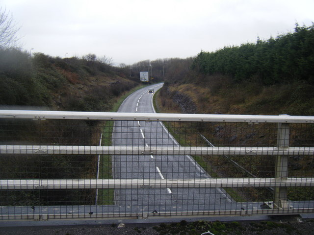 South Cornelly bypass.