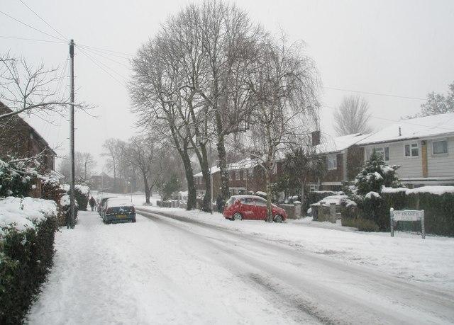 A snowy Stockheath Lane