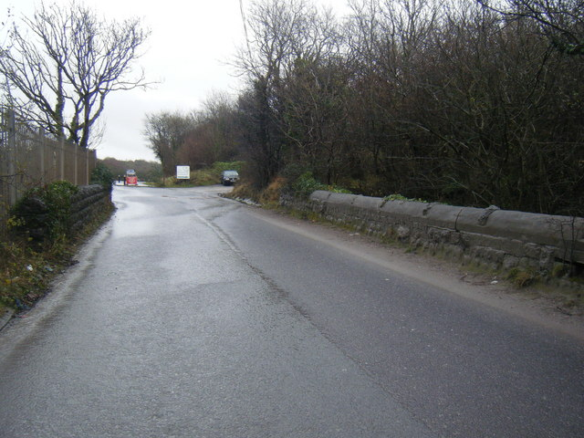 Bridge over site of Porthcawl branch line.