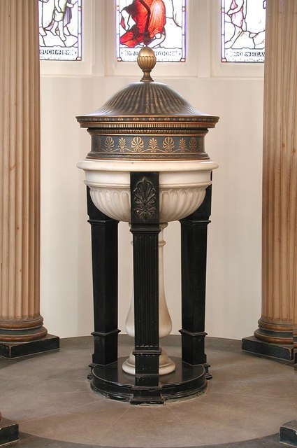 St Andrew, Hove, Sussex - Font
