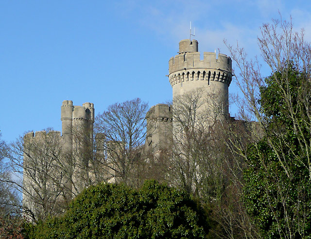 Arundel Castle (detail), West Sussex