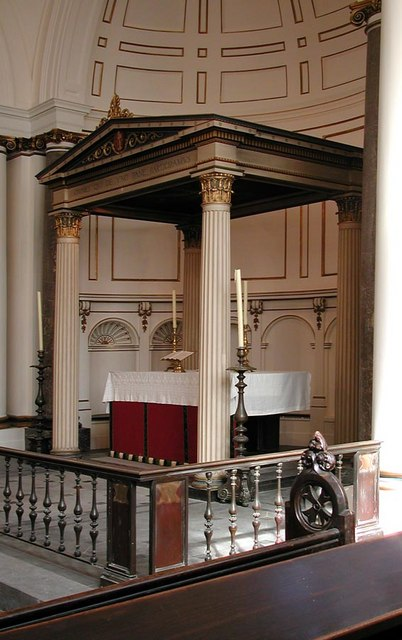 St Andrew, Hove, Sussex - Baldacchino