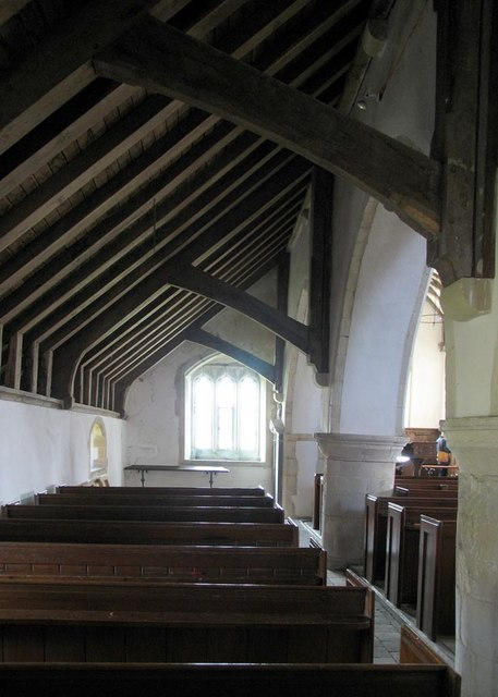 St Andrew, Beddingham, Sussex - North aisle
