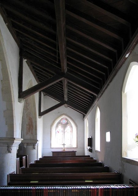 St Andrew, Beddingham, Sussex - South aisle