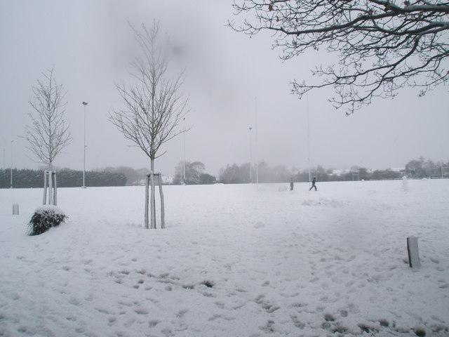 A snowy Hooks Lane Rec (3)