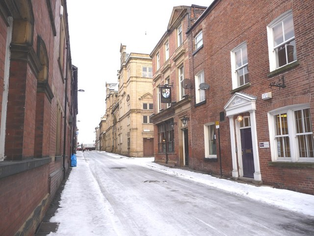 King Street in the snow