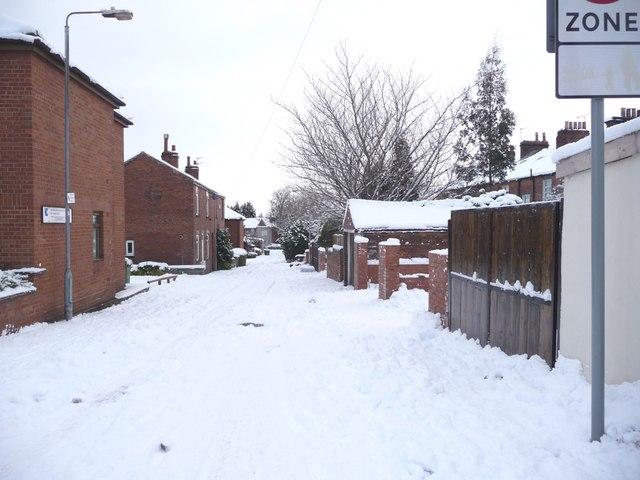 Back Hatfeild Street