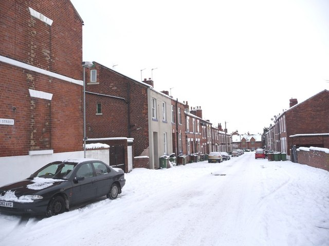 Clarendon Street, from College Grove Road