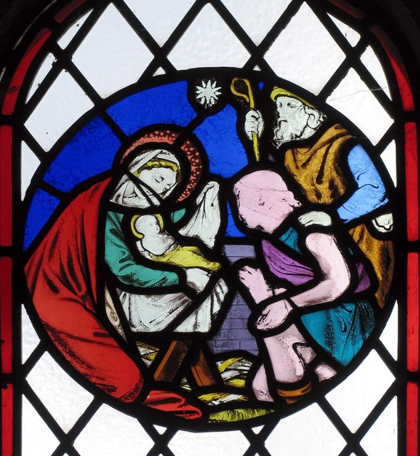 St Andrew, Beddingham, Sussex - Window