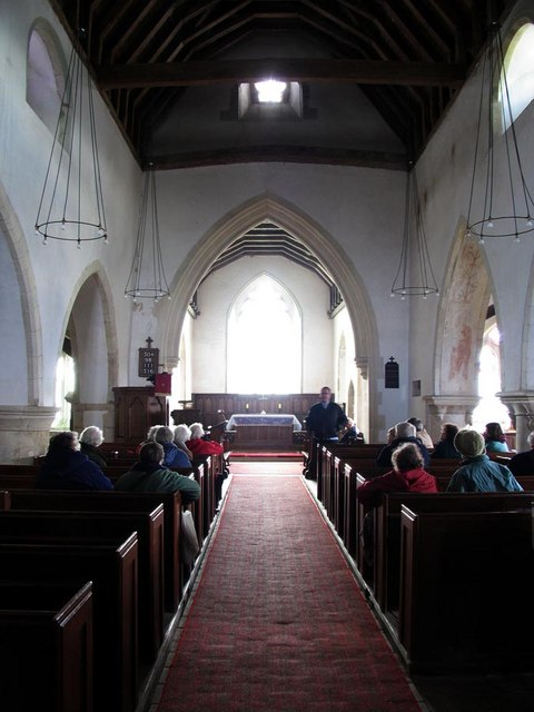 St Andrew, Beddingham, Sussex - East end