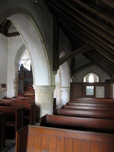 St Andrew, Beddingham, Sussex - Interior
