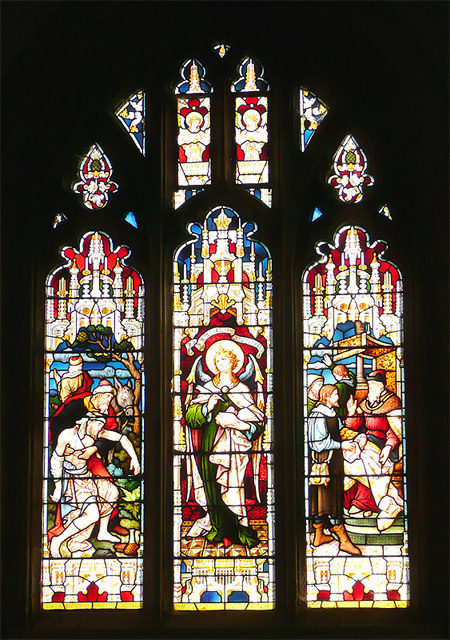 Windows in the Church of St Nicholas, Arundel