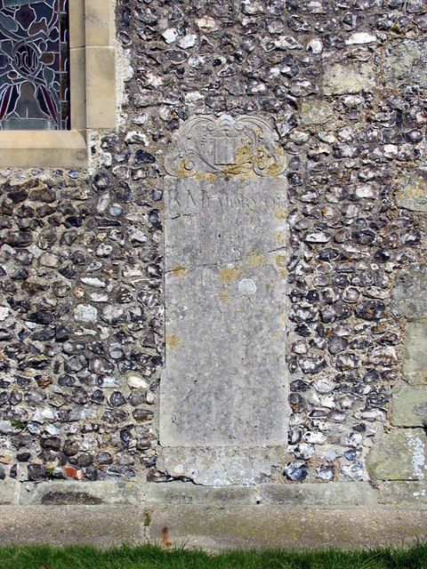 St Andrew, Beddingham, Sussex - Monument