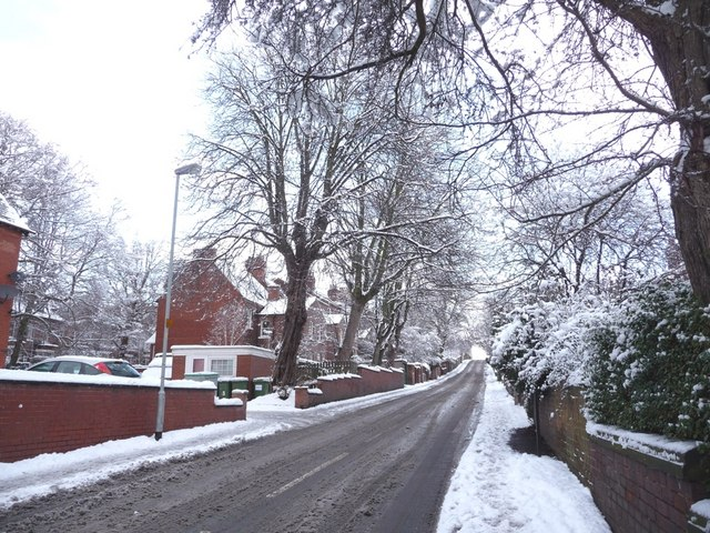 North Road, from Eastmoor Road