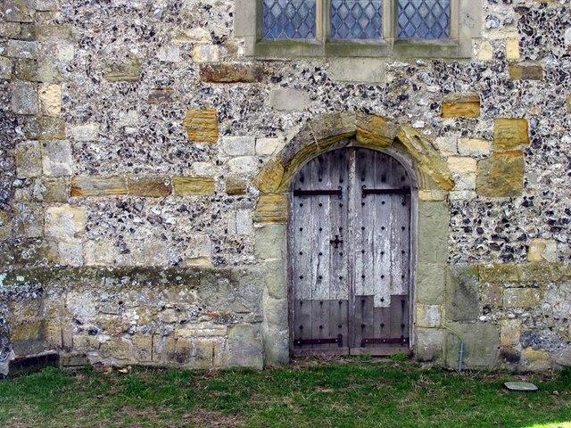 St Andrew, Beddingham, Sussex - Doorway