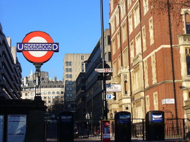 Temple Underground Station