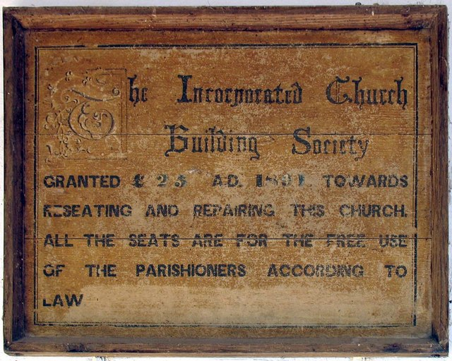 St Mary, Tarring Neville, Sussex - ICBS Board