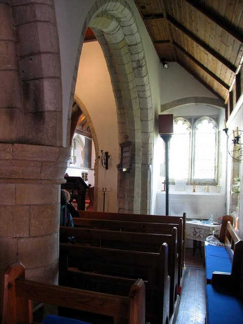 St Mary, Tarring Neville, Sussex - South aisle