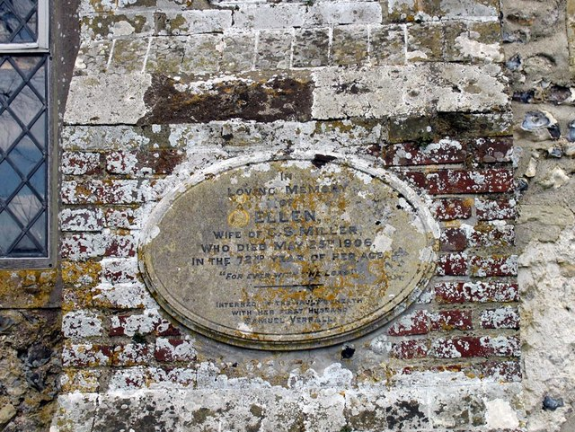Southease Church, Sussex - Monument
