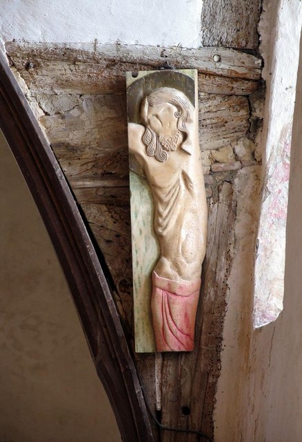 Southease Church, Sussex - Sculpture