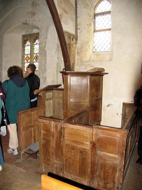 Southease Church, Sussex - Pulpit