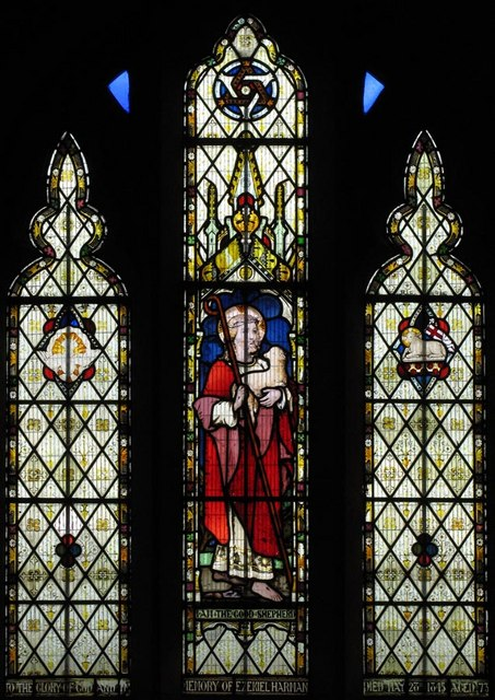 Southease Church, Sussex - Window