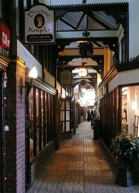 Shopping Arcade, Tarrant Street, Arundel