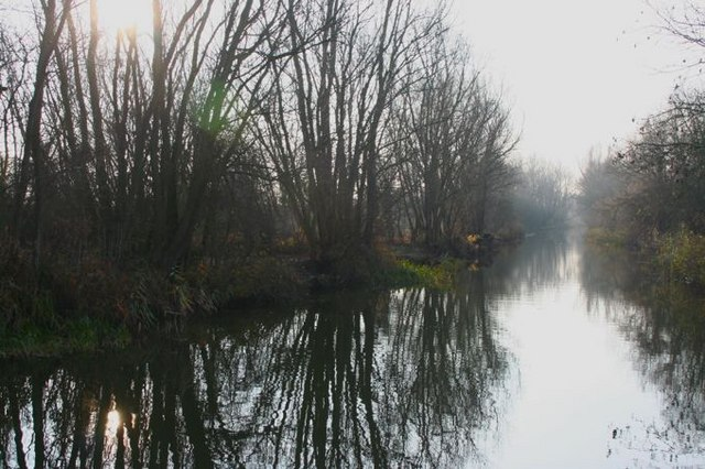 Old West River south of the Lazy Otter