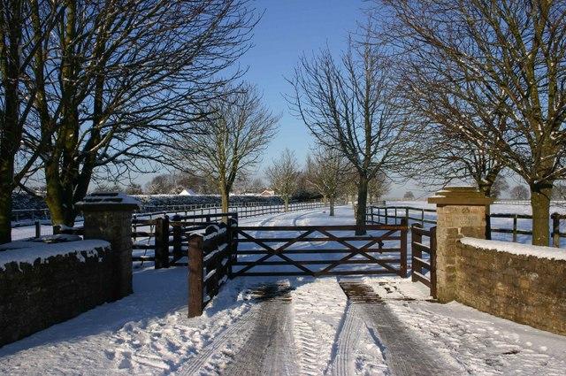 Driveway to Westfields Court