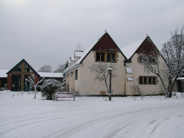 St Martins in the snow