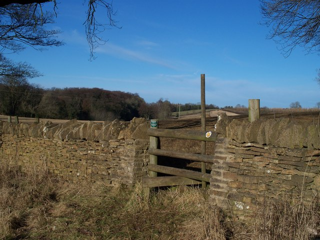 Over the stile and across the field