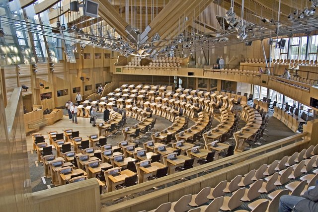 Scottish Parliament, Main Debating Chamber
