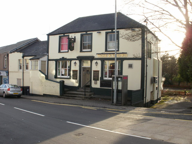 Rose & Crown, Old Cwmbran