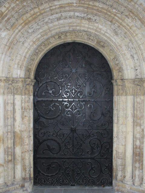 West Door, Round Church