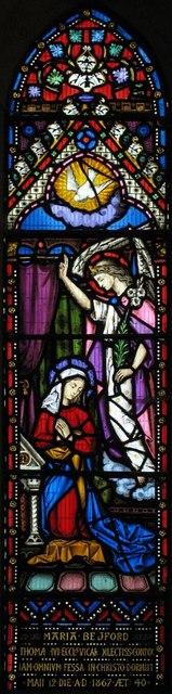 St Nicholas, Iford, Sussex - Window