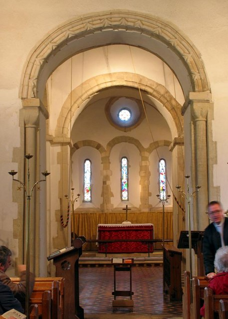 St Nicholas, Iford, Sussex - Chancel