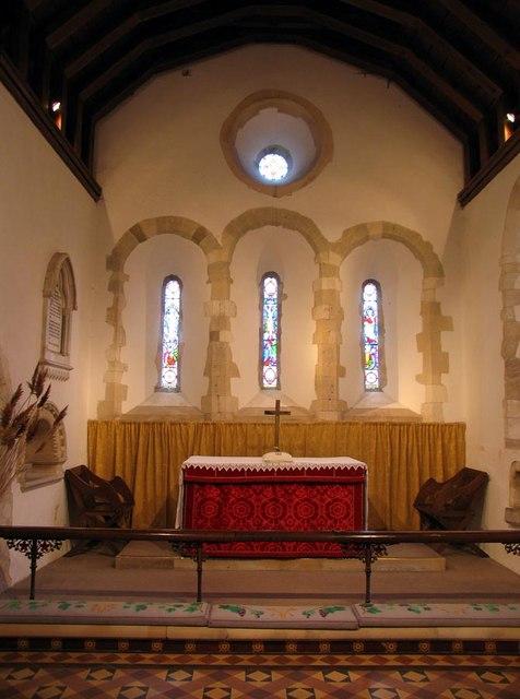 St Nicholas, Iford, Sussex - Sanctuary