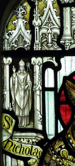 St Nicholas, Iford, Sussex - Window detail