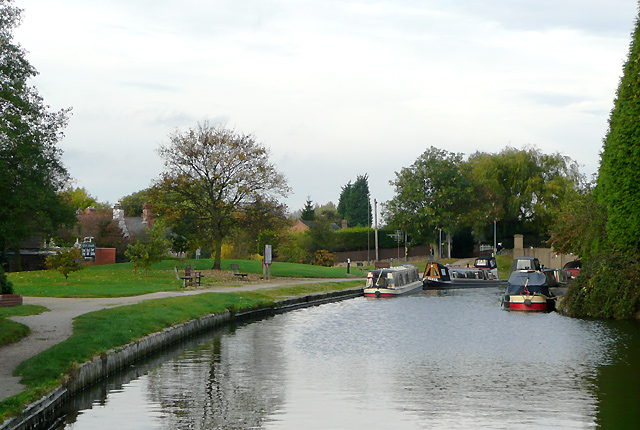 Trent and Mersey Canal at Willington Green, Derbyshire