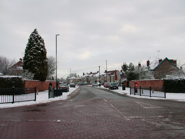 Bathway Road viewed from Green Lane