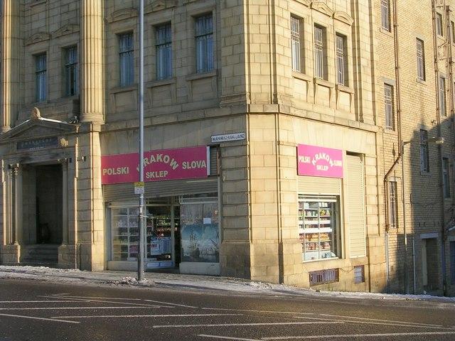 Continental Shop - Manningham Lane