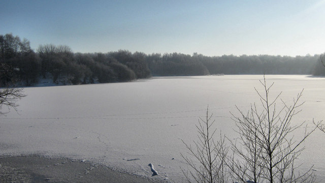 Snow, ice, sun and mist