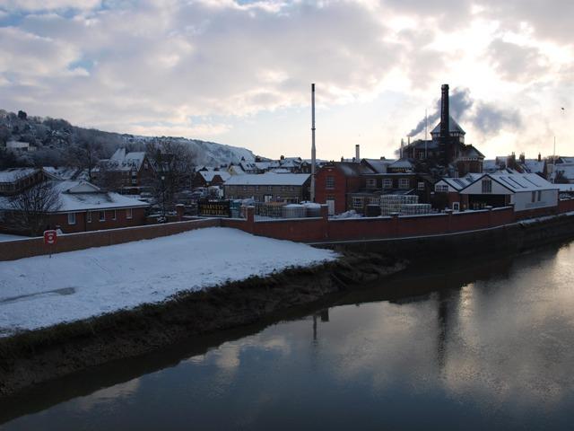 Harveys Brewery at Lewes