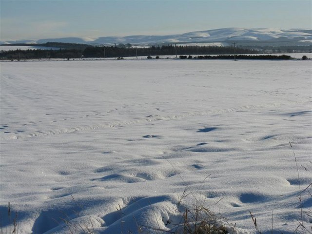 Winter farmscape from Tranent