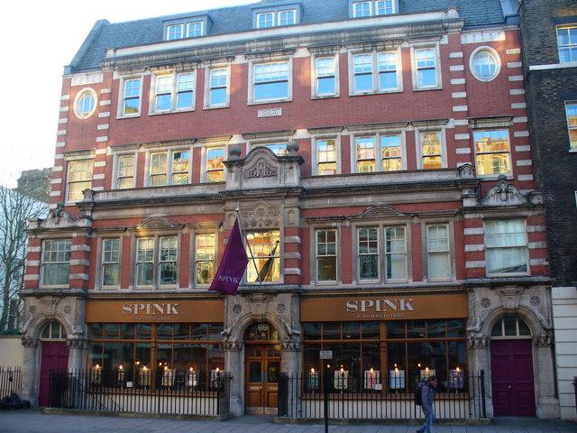 Spink, Southampton Row