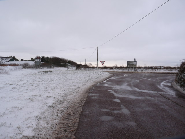 Hore Down Gate on the A3123