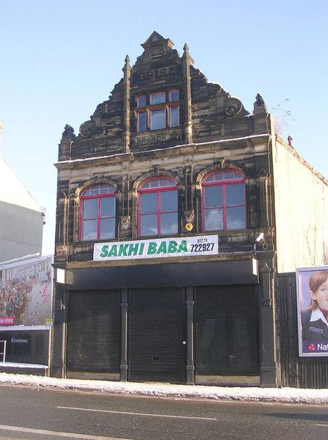 Former Bradford Industrial & Providence Society Ltd - Branch 37 - Manningham Lane