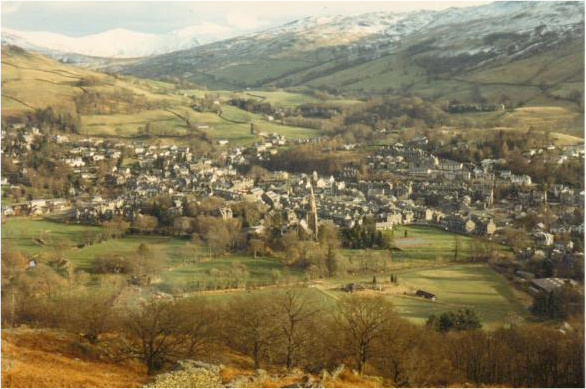 Ambleside from Loughrigg