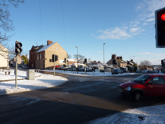 Old Road, and Old Hall Road, Brampton, Chesterfield